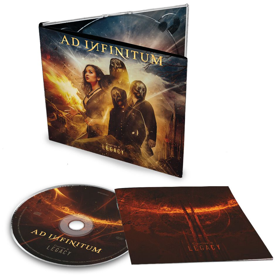 Image of Ad Infinitum Chapter II - Legacy CD Standard