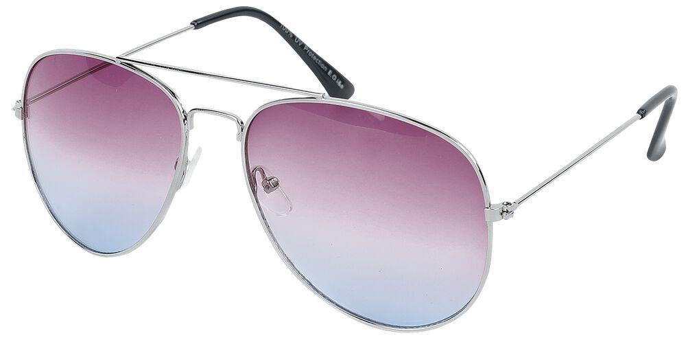 Pilotenbrille Silver