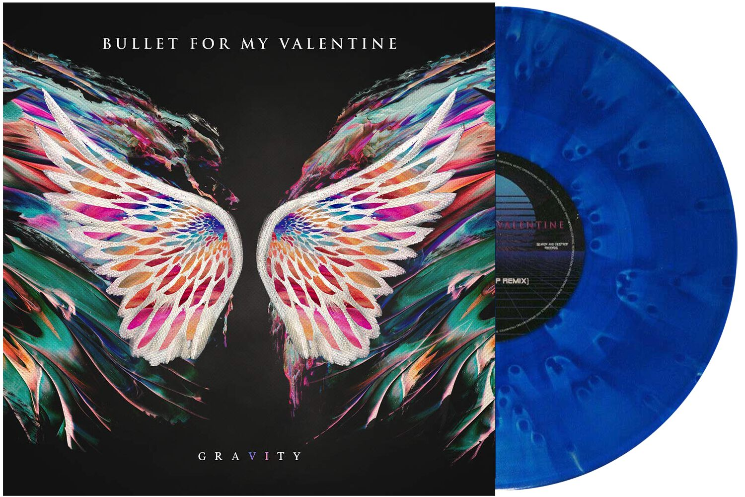 Image of Bullet For My Valentine Gravity / Radioactive 10 inch-MAXI blau