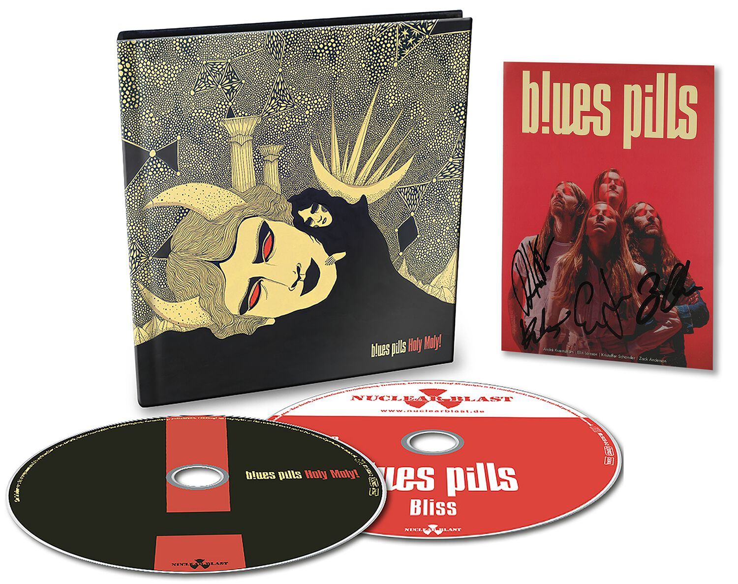 Image of Blues Pills Holy Moly! CD & EP-CD & Autogrammkarte Standard