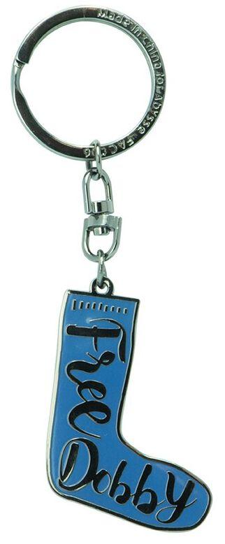 Harry Potter Dobby´s Socke Schlüsselanhänger blau schwarz ABYKEY296