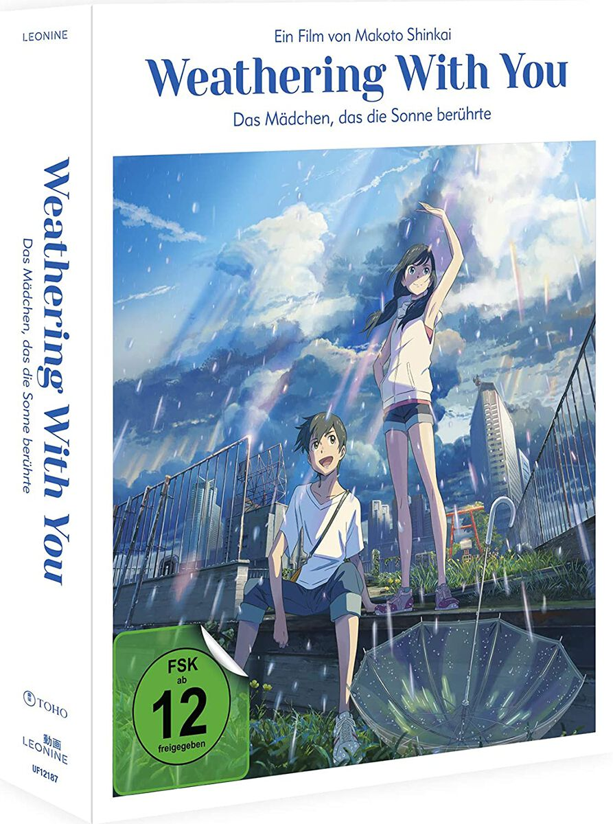 Image of Weathering with you Weathering with you - Das Mädchen, das die Sonne berührte (White Edition) Blu-ray & DVD Standard