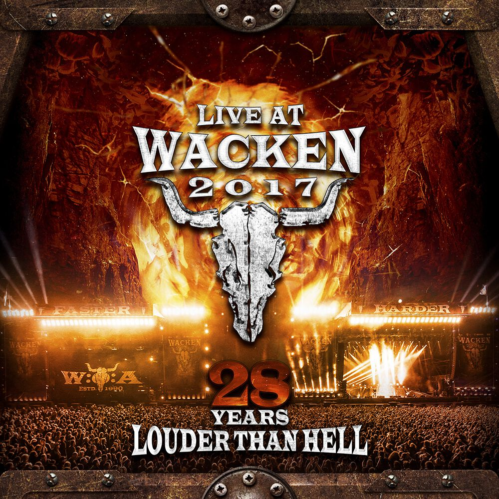 Image of Wacken Live at Wacken 2017 - 28 years louder than hell 2-DVD & 2-CD Standard