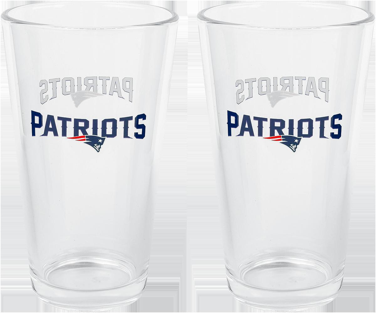 NFL - New England Patriots - Pint-Glas - multicolor