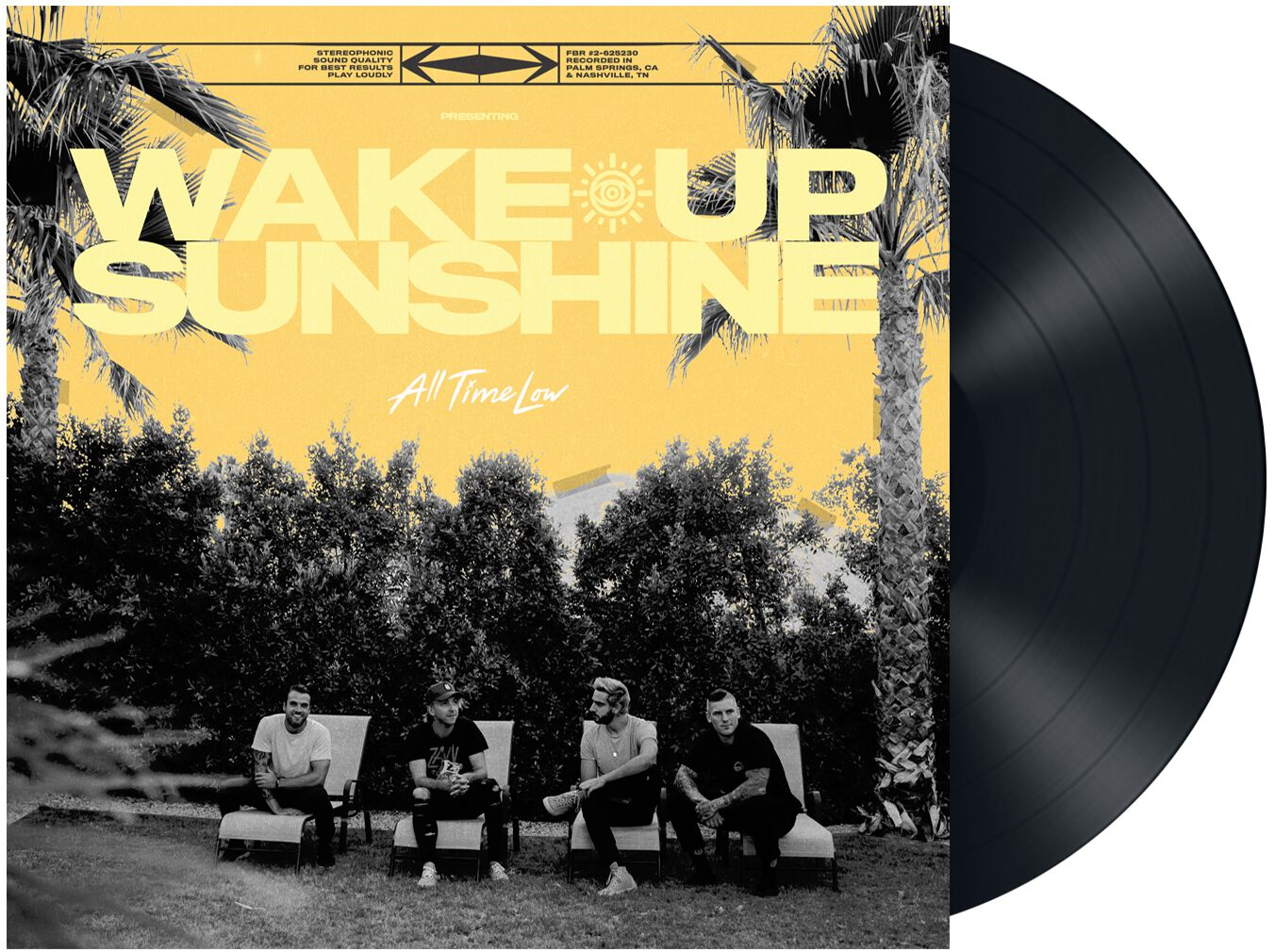 All Time Low  Wake up, sunshine  LP  Standard
