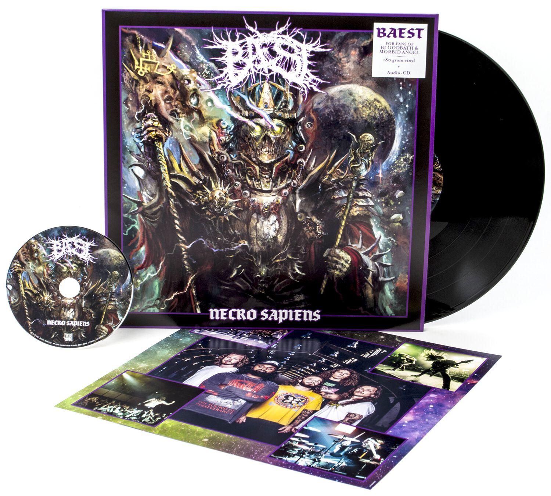 Image of Baest Necro sapiens LP & CD Standard