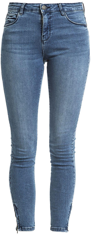Hosen für Frauen - Noisy May Kimmy NW Ankle Zip Jeans Girl Jeans blau  - Onlineshop EMP