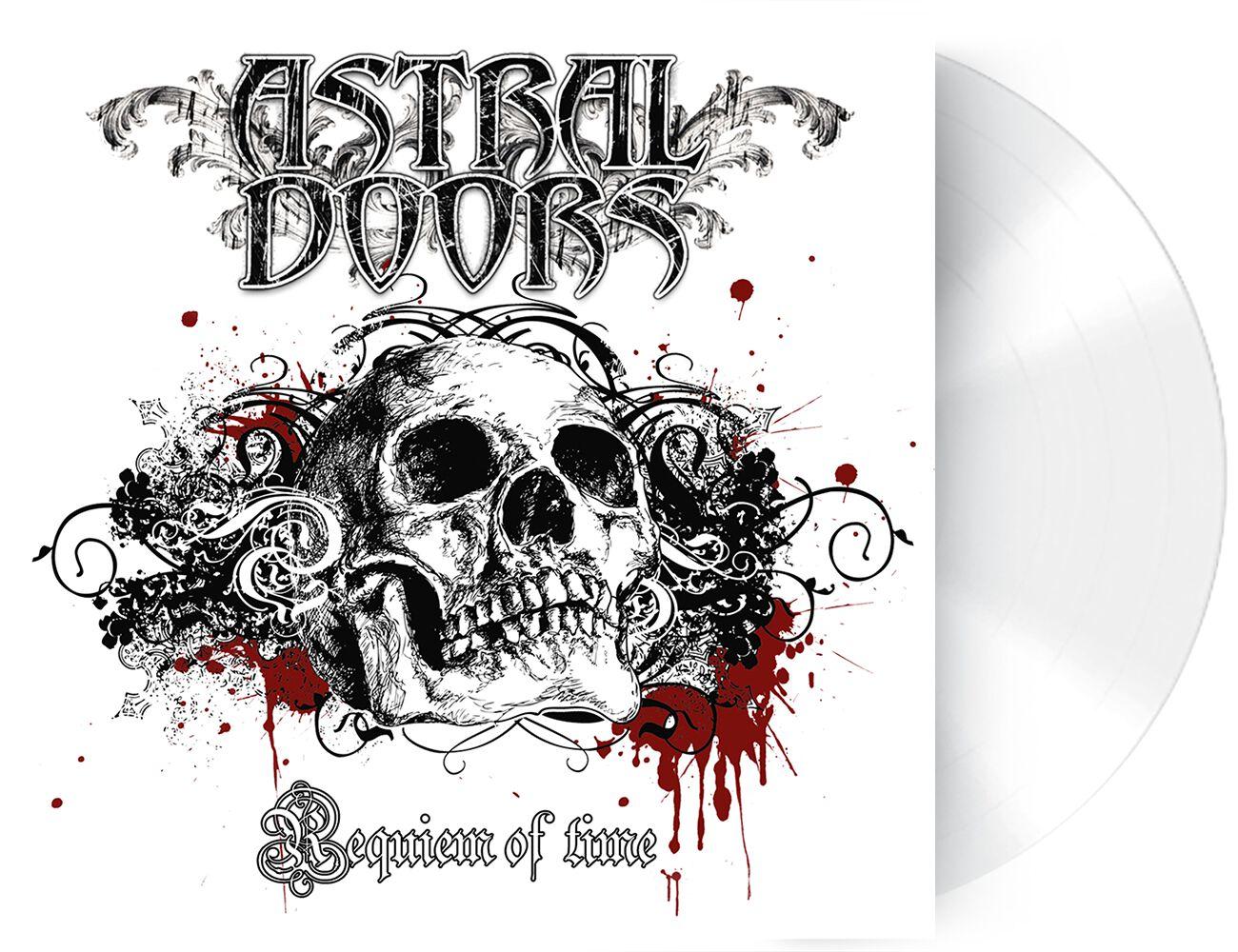 Image of Astral Doors Requiem of time LP weiß