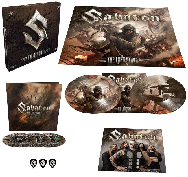 Image of Sabaton The Last Stand 2-CD & DVD & 2-LP Standard