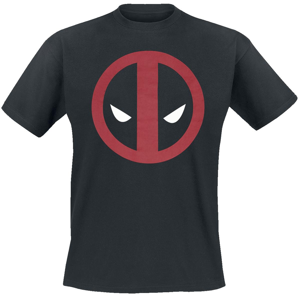 Deadpool - Logo - T-Shirt - black image