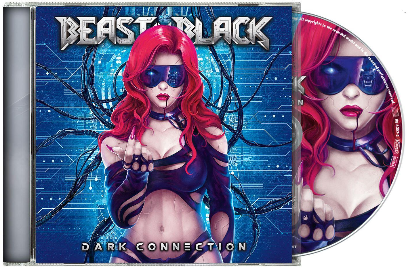 Image of Beast In Black Dark connection CD Standard