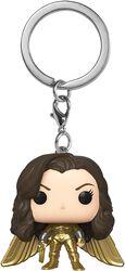 1984 - Wonder Woman ohne Helm Pocket POP! Keychain