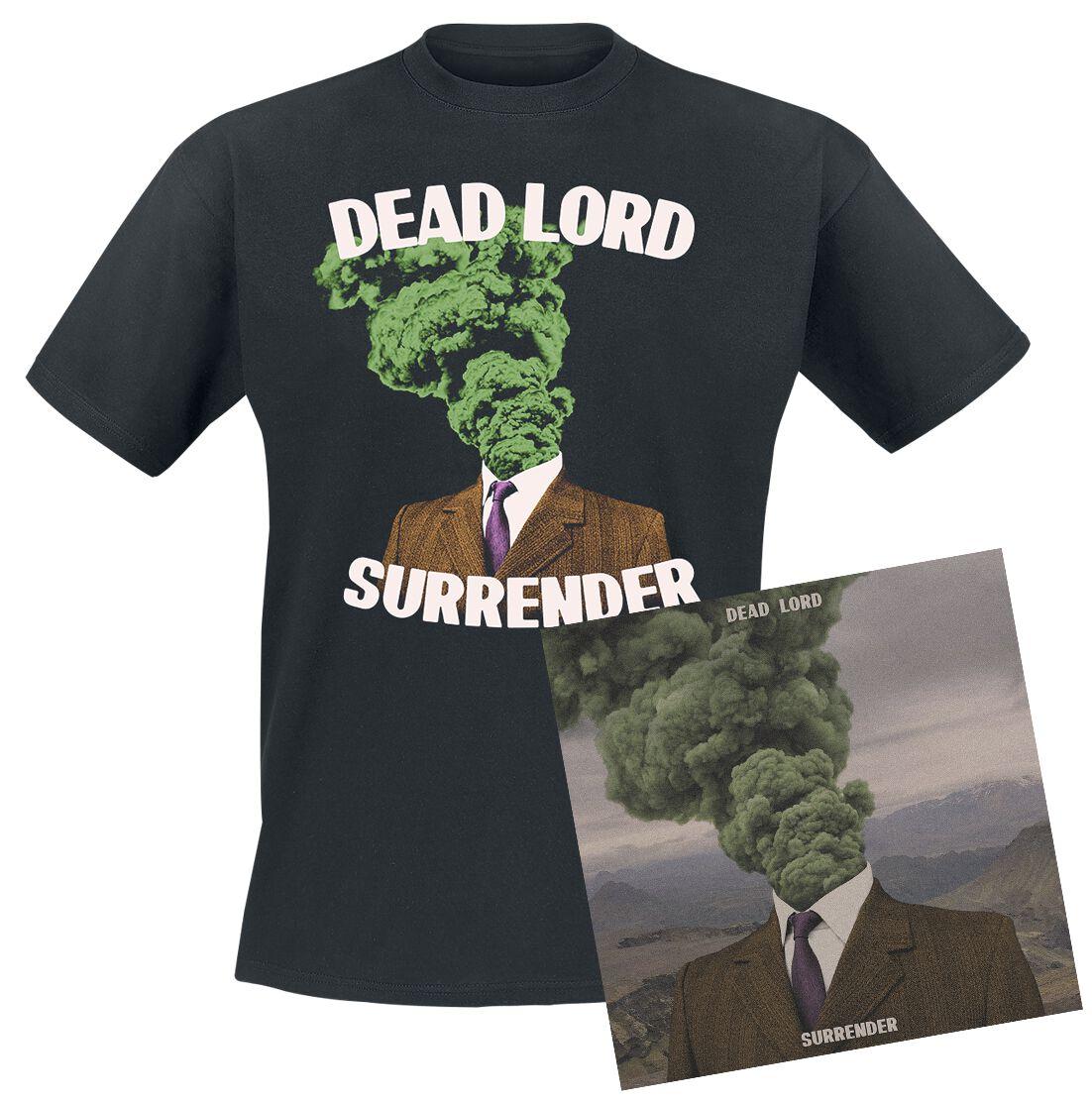 Image of Dead Lord Surrender CD & T-Shirt Standard