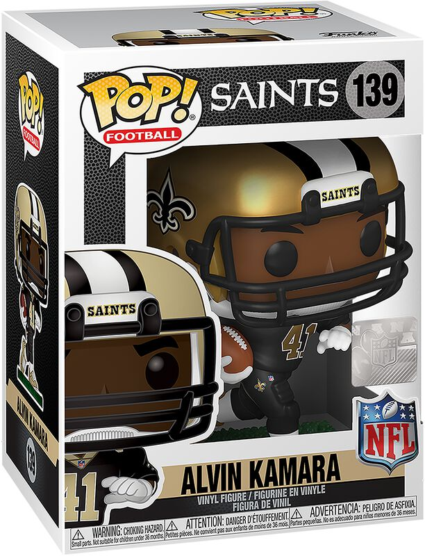 New Orleans Saints - Alvin Kamara Vinyl Figur 139