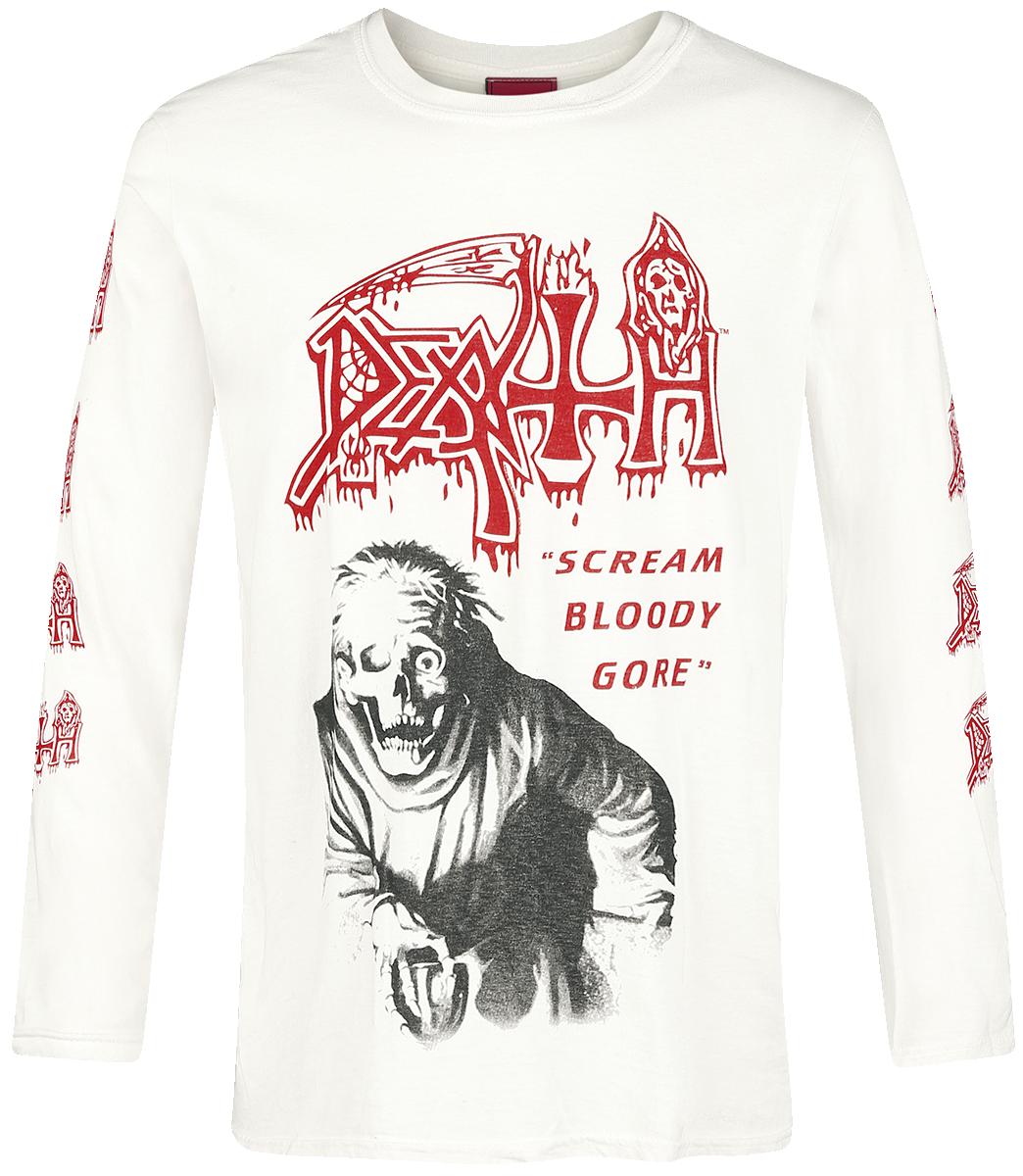 Death - Scream Bloody Gore - Longsleeve - off white image