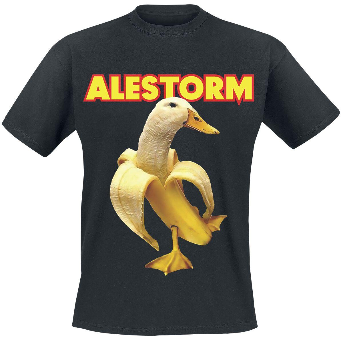 Image of Alestorm Banana Duck T-Shirt schwarz