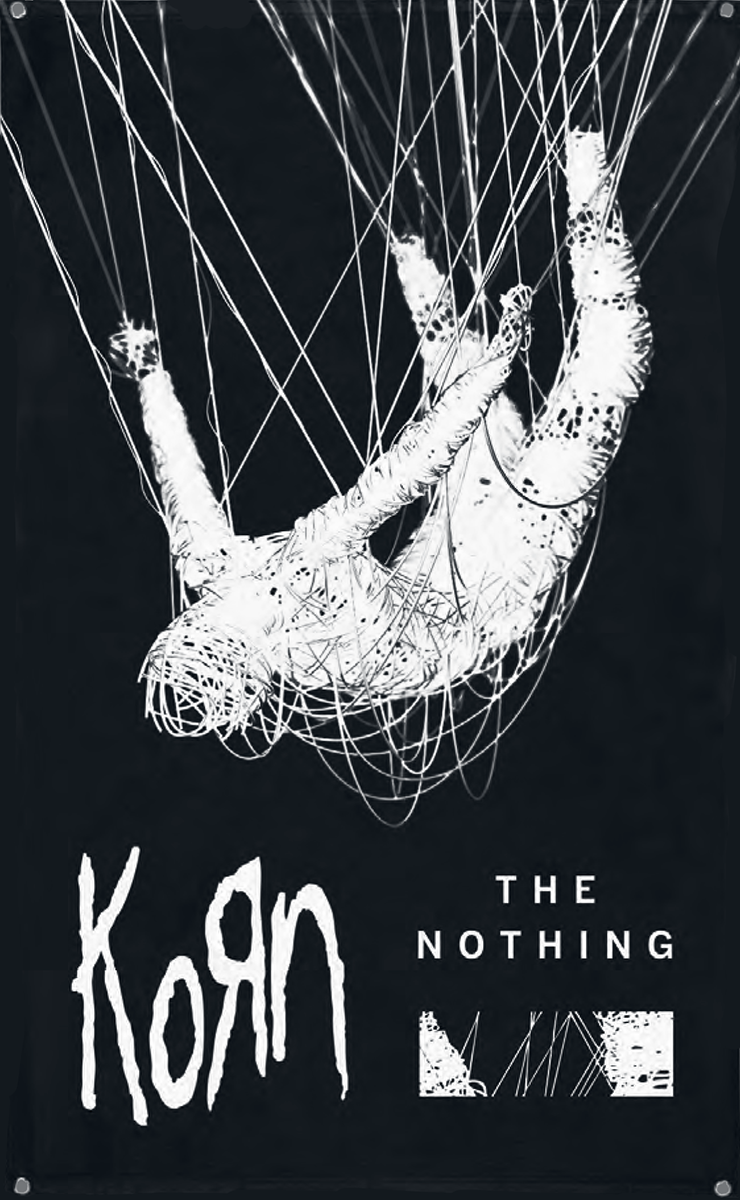 Image of Korn The nothing CD & Flagge Standard