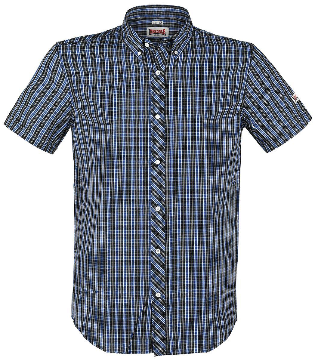 Image of Lonsdale London Brixworth Hemd blau