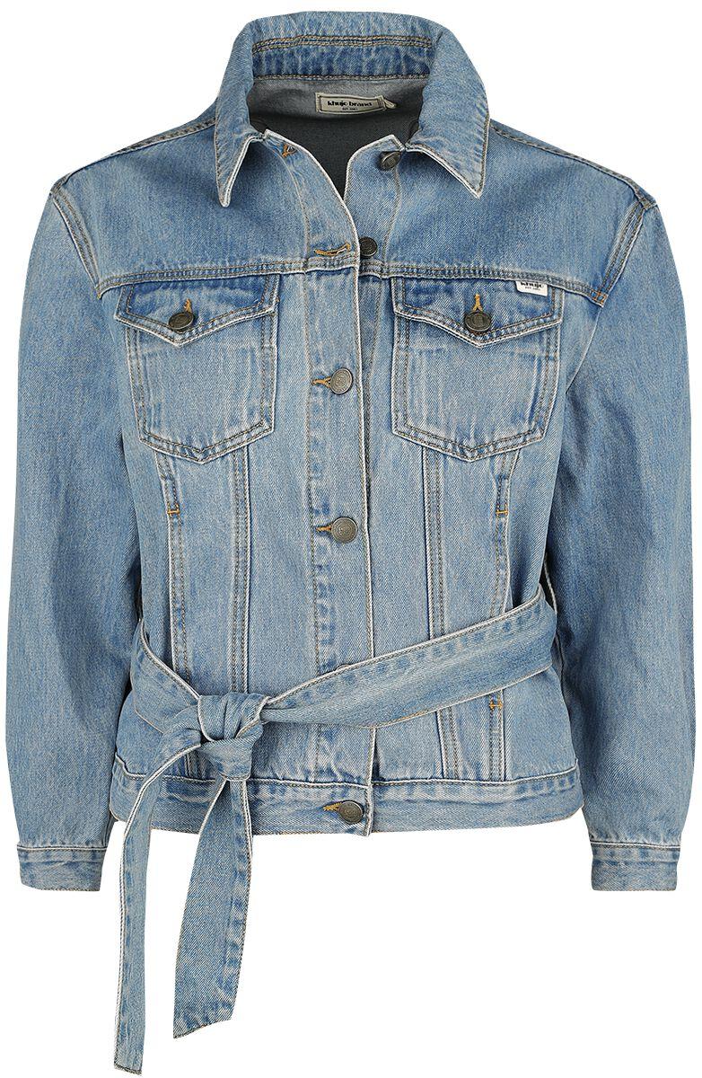 Image of Khujo Shane Giacca di jeans donna blu