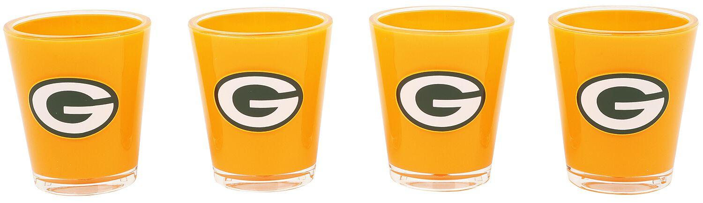 NFL Green Bay Packers Schnapsglas-Set multicolor 3020165