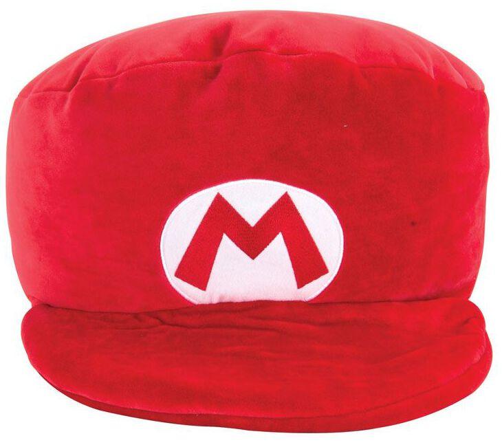 Image of Super Mario - Mario Kart - Mario's Hat (Club Mocchi-Mocchi) - Pupazzi imbottiti - Unisex - rosso bianco