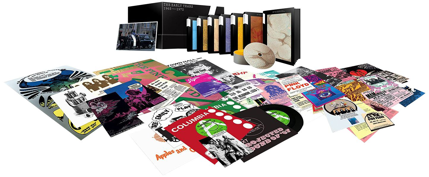 Image of Pink Floyd The early years 1967-72 10-CD & 9-DVD & 8-Blu-ray & 5 x7 inch Standard