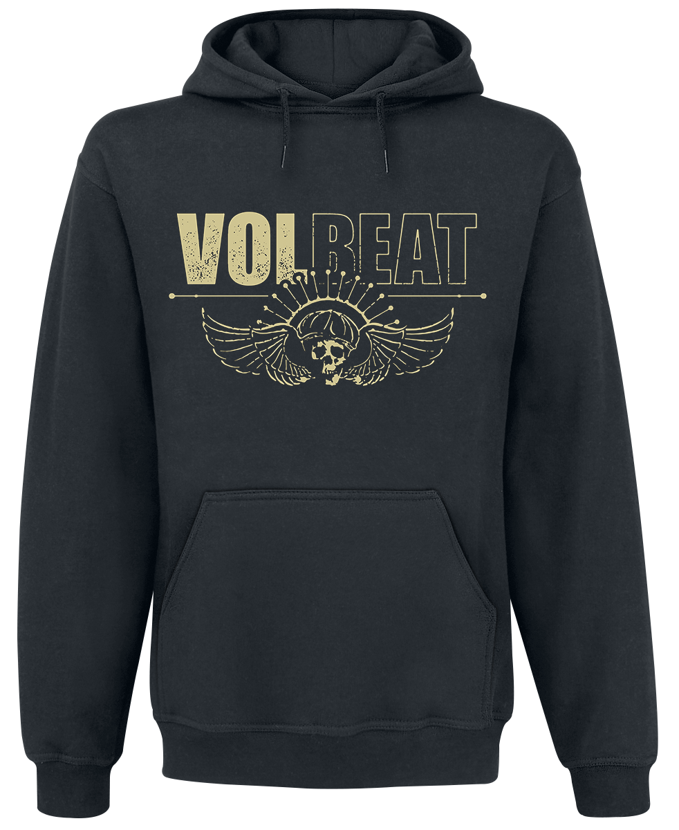 Volbeat - Skull Face - Hooded sweatshirt - black image