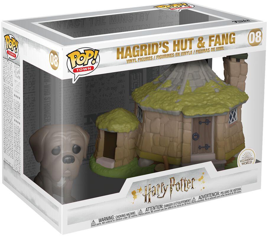 Hagrid's Hut with Fang (Pop! Town) Vinyl Figur 08