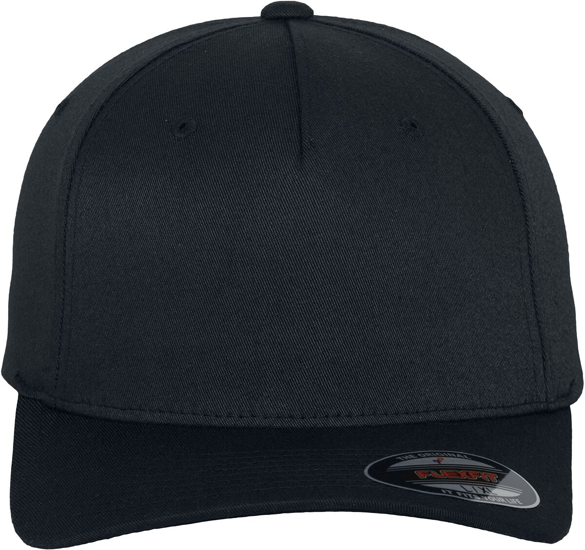 Image of Flexfit Flexfit 5 Panel Flexcap schwarz