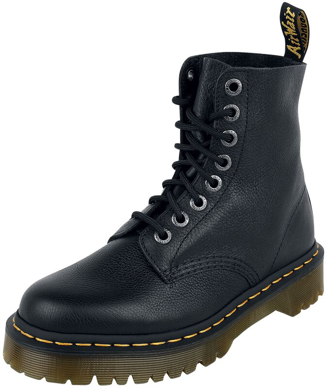 1460 Pascal Bex Black Pisa 8 Eye Boot