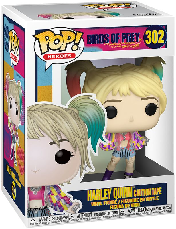 Harley Quinn Caution Tape Vinyl Figure 302
