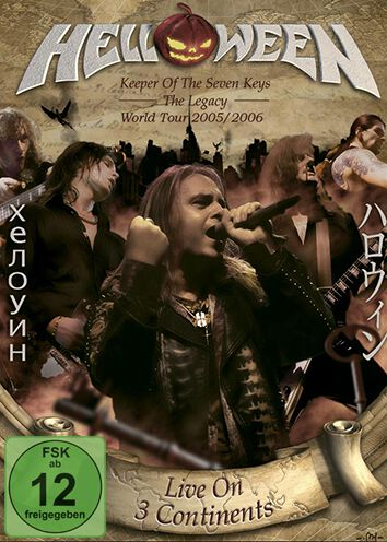 Image of Helloween Live on 3 continents 2-DVD & 2-CD Standard