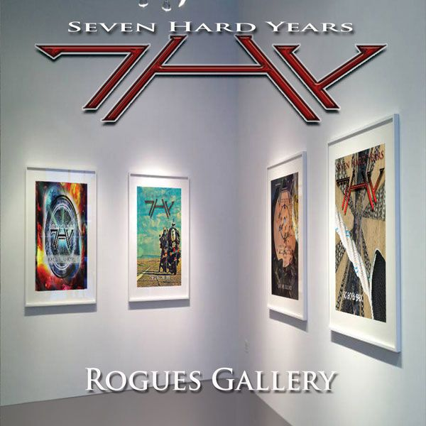 Image of 7HY - Seven Hard Years Rogues gallery CD Standard