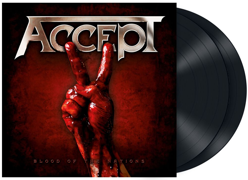 Image of Accept Blood of the nations 2-LP Standard