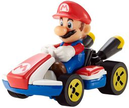 Mario Kart Hot Wheels Diecast Modellauto 1/64 - Mario