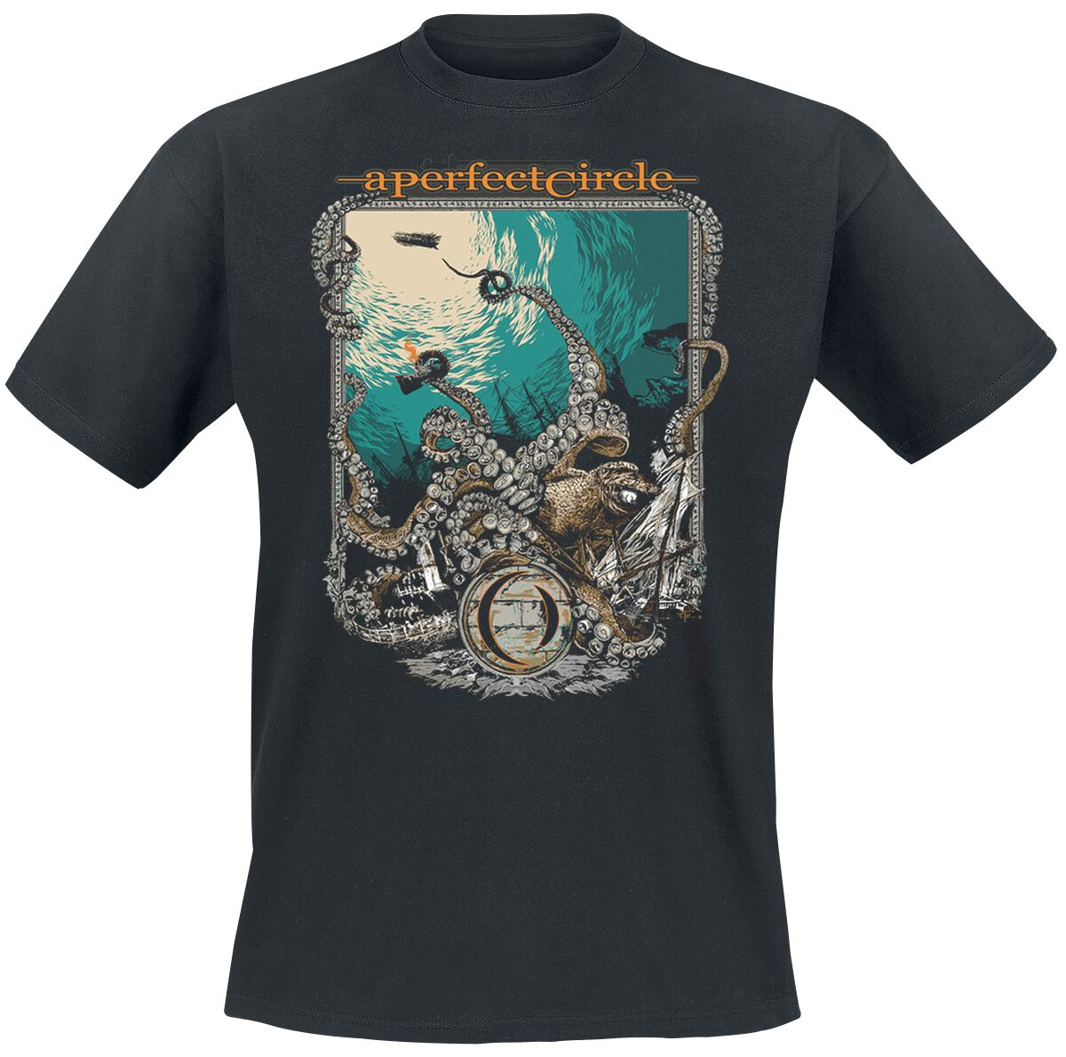 Image of A Perfect Circle The Depths T-Shirt schwarz