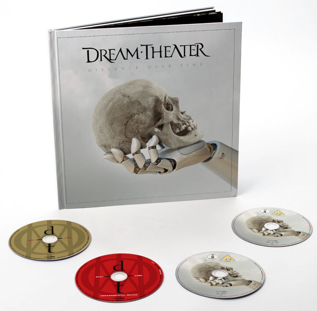 Image of Dream Theater Distance Over Time 2-CD & DVD & Blu-ray Standard