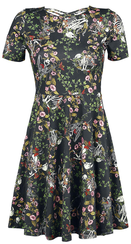 Kleider für Frauen - Jawbreaker I Don't Want No Shrubs Kleid multicolor  - Onlineshop EMP