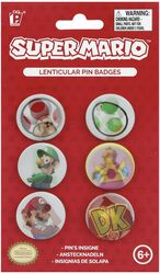 Super Mario Pin Set