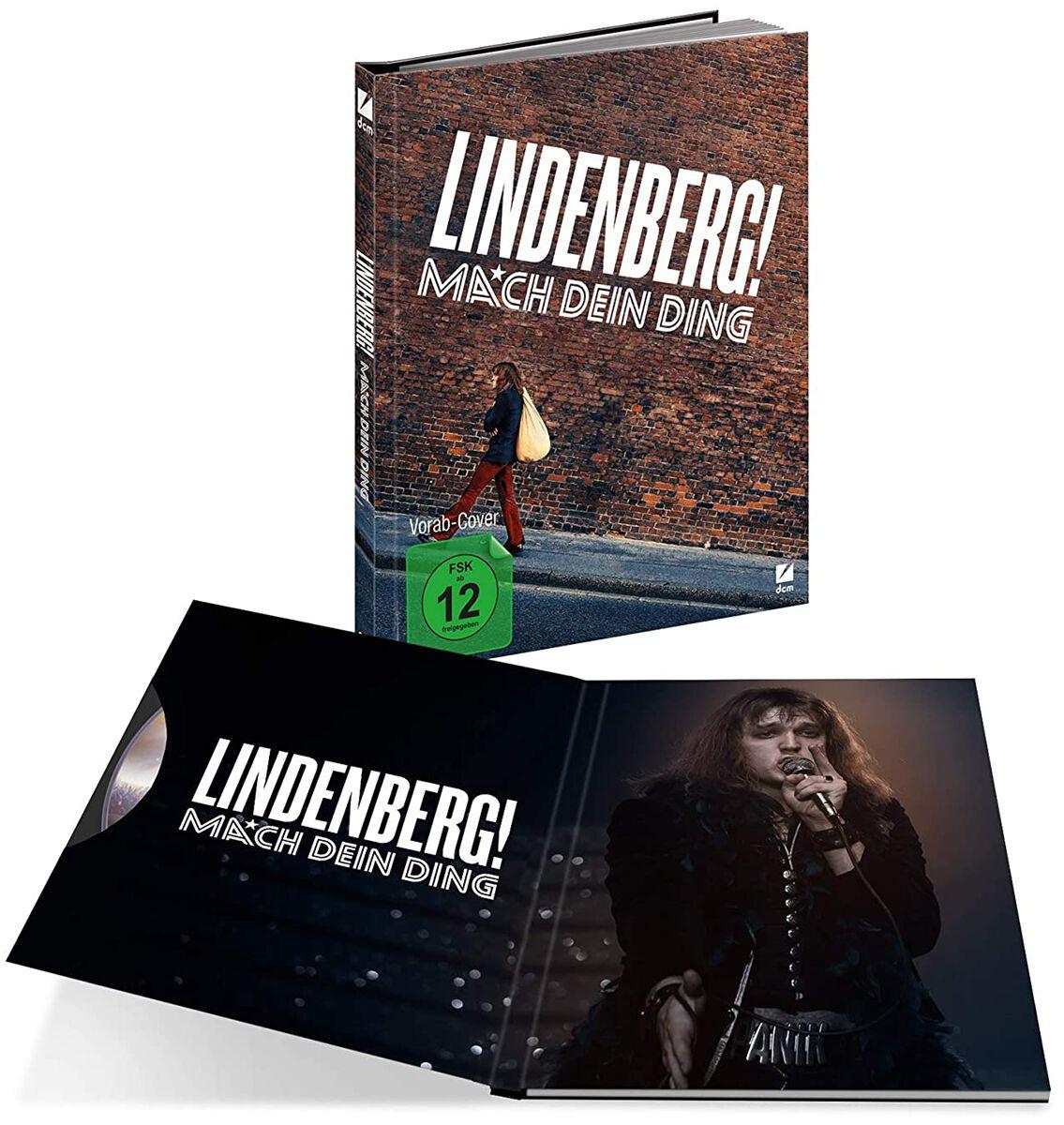 Image of Udo Lindenberg Lindenberg! Mach dein Ding Blu-ray & DVD Standard