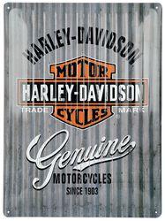 Harley-Davidson Metal Wall - Blechschild