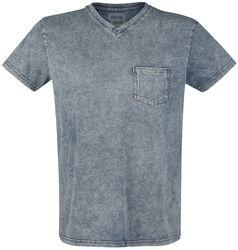 T-Shirt mit Waschung