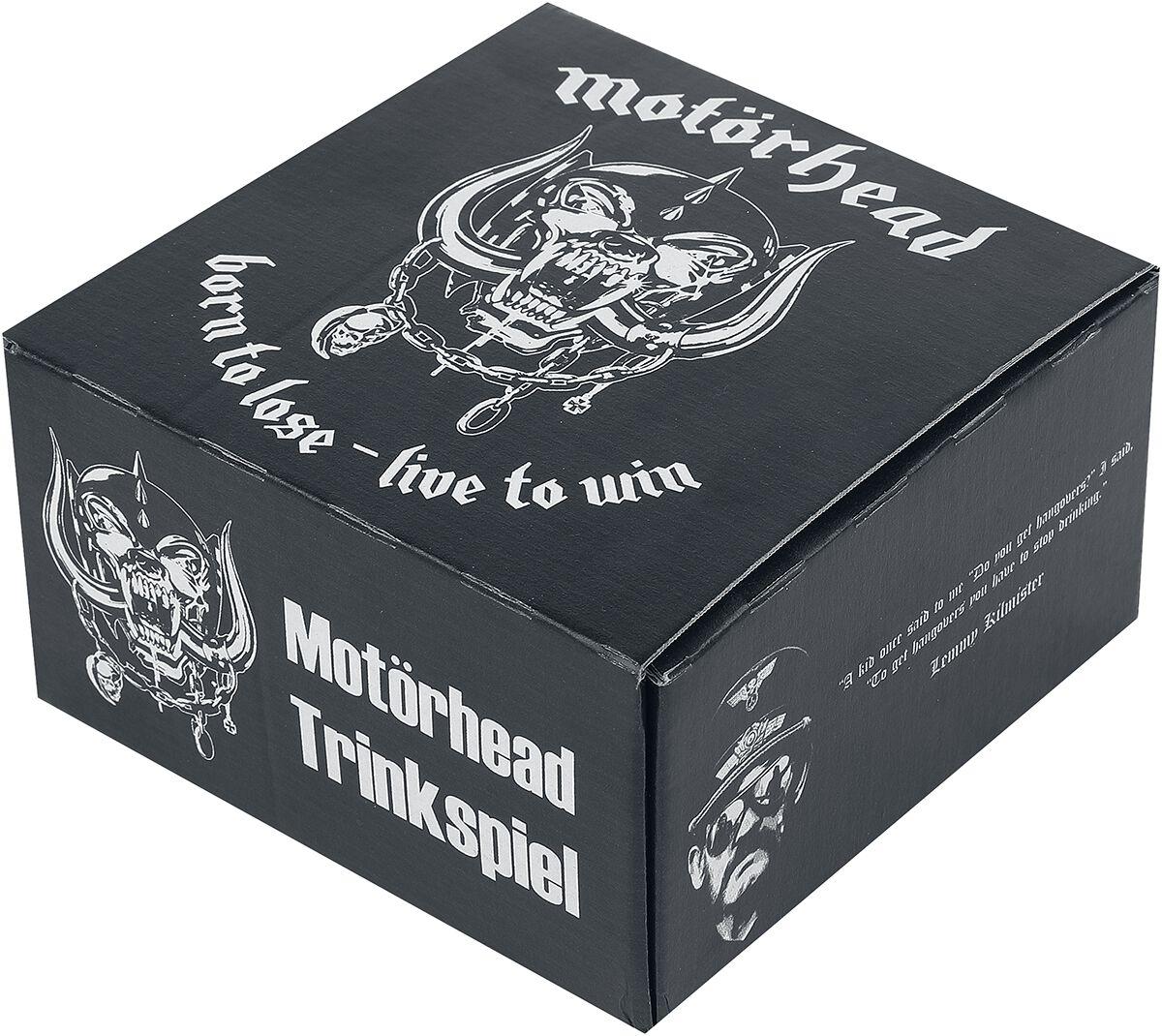 Motörhead Born To Lose - Live To Win: Trinkspiel  Brettspiel  Standard
