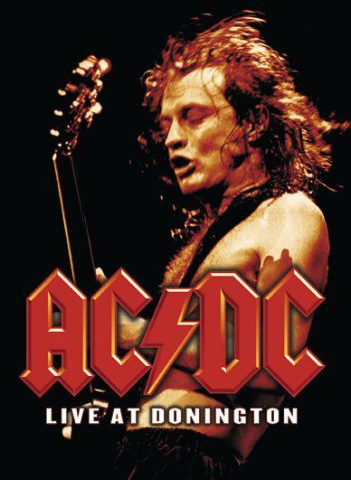 AC/DC Live At Donington  DVD  Standard