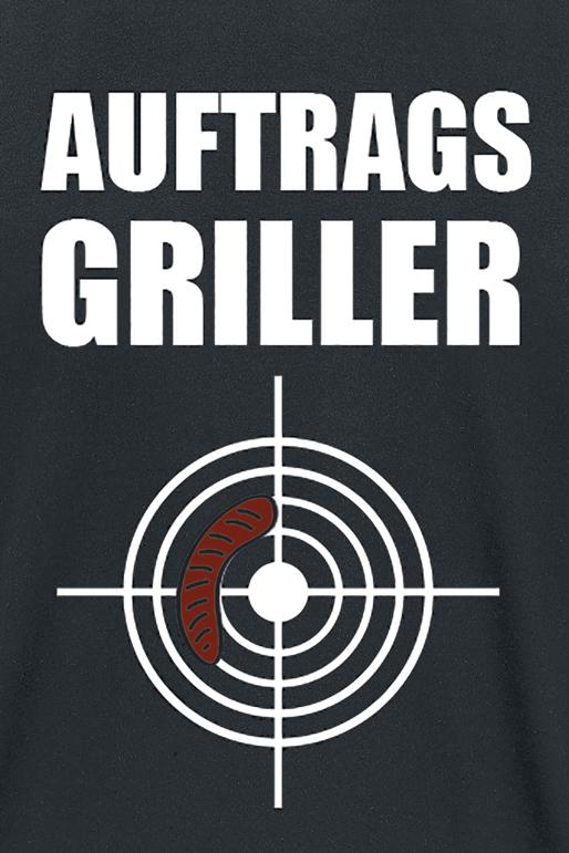 Image of Auftragsgriller T-Shirt schwarz