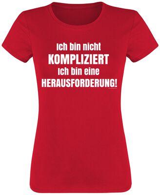 Ich bin nicht kompliziert! T-Shirt | EMP