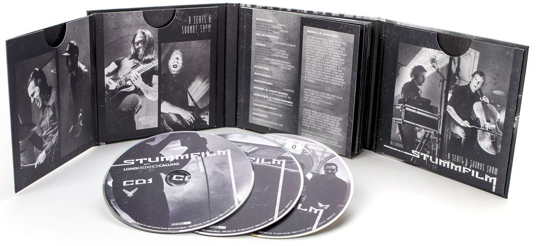 Image of Long Distance Calling STUMMFILM - Live in Hamburg 2-CD & Blu-ray Standard