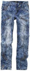 Jared - Blaue Jeans mit starker Waschung