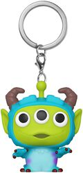 Alien als Sulley - POP! Keychain