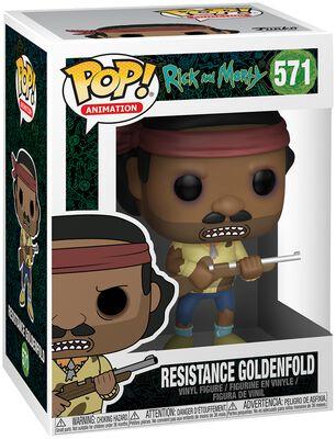 Resistance Goldenfold Vinyl Figure 571